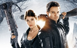 Preview wallpaper Hansel and Gretel: Witch Hunters