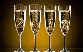 Happy 2013, New Year champagne