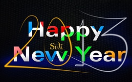 Preview wallpaper Happy New Year 2013, Creative Art