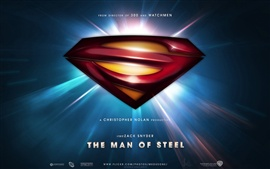Preview wallpaper Man of Steel 2013