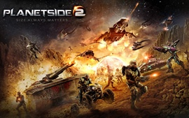 Preview wallpaper Planetside 2 HD