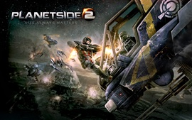 Preview wallpaper Planetside 2