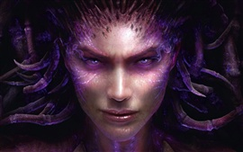 Aperçu fond d'écran StarCraft II: Heart of the Swarm