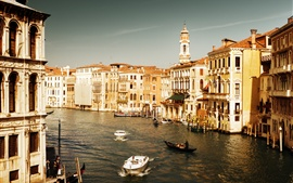 Preview wallpaper Tourist destination, Italy, Venice, Watertown