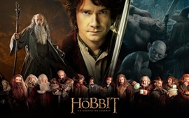 Preview wallpaper 2012 movie, The Hobbit: An Unexpected Journey
