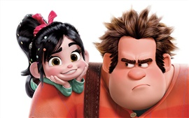 Preview wallpaper Cartoon movie, Wreck-It Ralph
