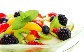 Colorful delicious fruit desserts Wallpapers Pictures Photos Images