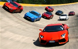 Preview wallpaper Famous sports car race track race