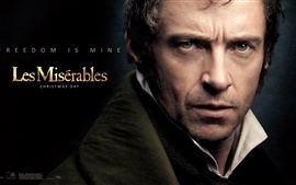 Preview wallpaper Hugh Jackman in Les Miserables