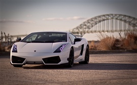 Lamborghini Gallardo LP570-4 fotografia close-up