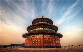 Travel to Beijing, China, the Temple of Heaven Park
