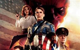 Aperçu fond d'écran Captain America HD