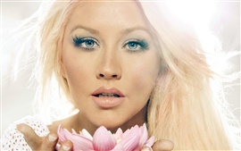Preview wallpaper Christina Aguilera 05