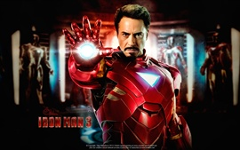 Preview wallpaper Iron Man 3, Robert Downey Jr. 2013 movie