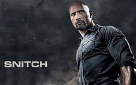 Preview wallpaper Snitch, Dwayne Johnson, 2013 movie