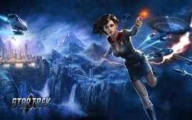 Preview wallpaper Star Trek Online, beautiful girl