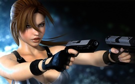 Tomb Raider, Lara Croft, pura y hermosa