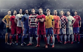 Preview wallpaper 2012 European Cup, the star player photo