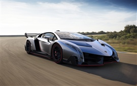 2013 Lamborghini Veneno luxury supercar