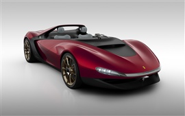 Preview wallpaper 2013 Pininfarina Sergio concept supercar