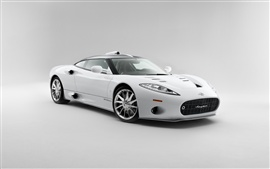 2013 Spyker C8 Aileron, white color Wallpapers Pictures Photos Images