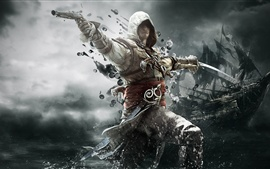Preview wallpaper 2013 game, Assassin's Creed 4: Black Flag