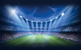 Champions League, Stadium, Football, Sports game