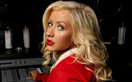 Preview wallpaper Christina Aguilera 12