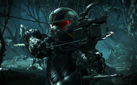 Crysis 3, hunter in the forest