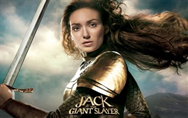 Preview wallpaper Eleanor Tomlinson in Jack the Giant Slayer
