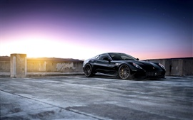 미리보기 배경 화면 페라리 599 GTB Fiorano supercar