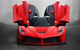 Preview wallpaper Ferrari LaFerrari 2013, Butterfly door