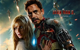 Preview wallpaper Iron Man 3, Superhero HD