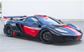 Preview wallpaper McLaren Hamann 2012 MP4 Black Side Luxury Car