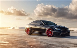 Mercedes-Benz C63 AMG black series Wallpapers Pictures Photos Images