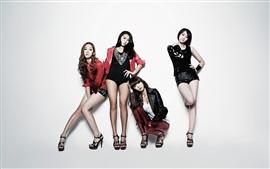 Sistar, Корея, музыка девушки