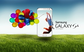 Preview wallpaper Samsung Galaxy S4 ads