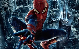 Preview wallpaper The Amazing Spider-Man, night city