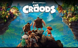 Preview wallpaper The Croods 2013 HD