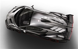 Preview wallpaper Top view of the Lamborghini Veneno 2013