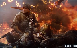 Preview wallpaper Battlefield 4, Soldiers injured