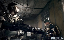 Preview wallpaper Battlefield 4, soldiers in the room
