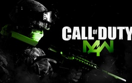 Preview wallpaper Call of Duty: MW 4