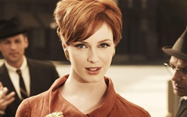 Preview wallpaper Christina Hendricks 01