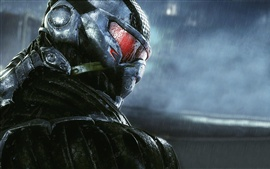 Preview wallpaper Crysis 3, Hunter close-up