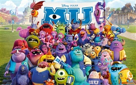 Preview wallpaper Disney movie, Monsters University
