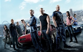 Aperçu fond d'écran Fast And Furious 6 HD