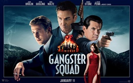 Preview wallpaper Gangster Squad HD