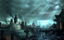 Preview wallpaper Hellgate: London, the war in London
