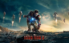 Preview wallpaper Iron Man 3 movie 2013